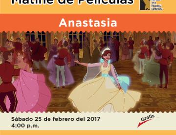 Matiné de películas  Anastasia