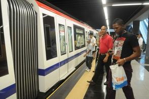Más vagones Metro Santo Domingo