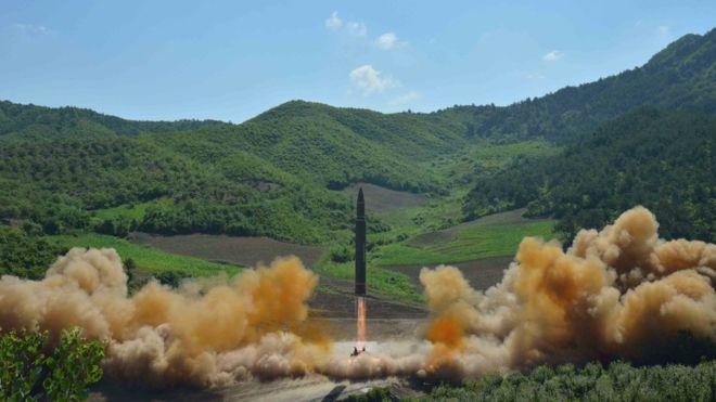 EEUU confirma que misil balístico lanzado por Corea del Norte es intercontinental