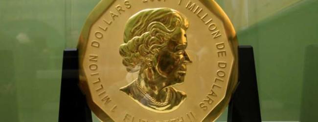 Robo de una moneda de oro Alemania