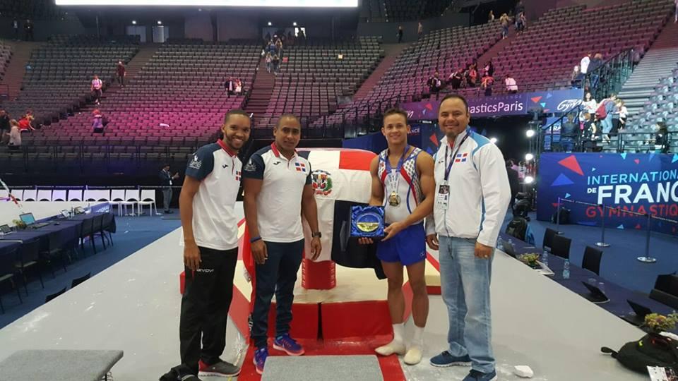 Nin Reyes obtiene oro en Mundial de Francia