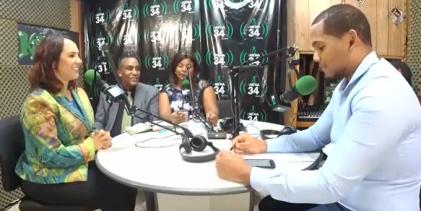 Karen Ricardo, diputada en JuveAccionRadio