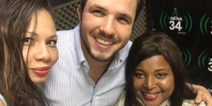 Claudio Caamaño, joven politico en juveaccion