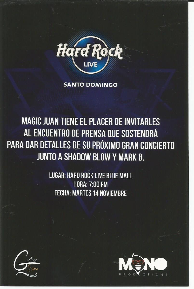 Invitacion Magic Juan.-