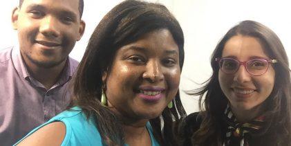 Claudia Taboada en JuveAccionRadio
