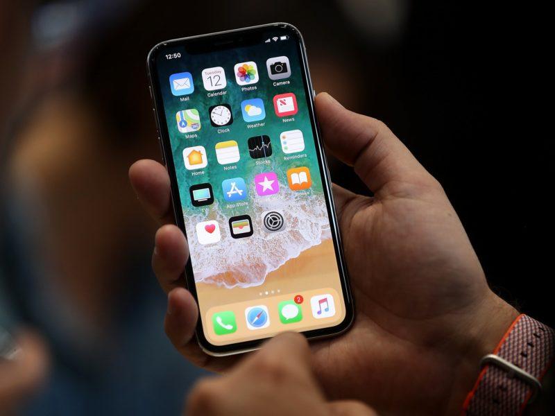 iPhone X ofrece avanzado sistema de identificación facial