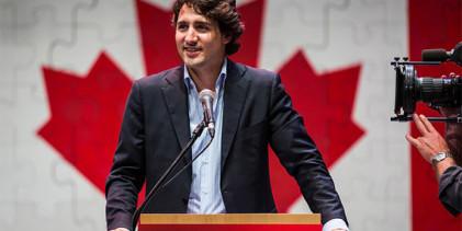 Justin Trudeau,  43 años.