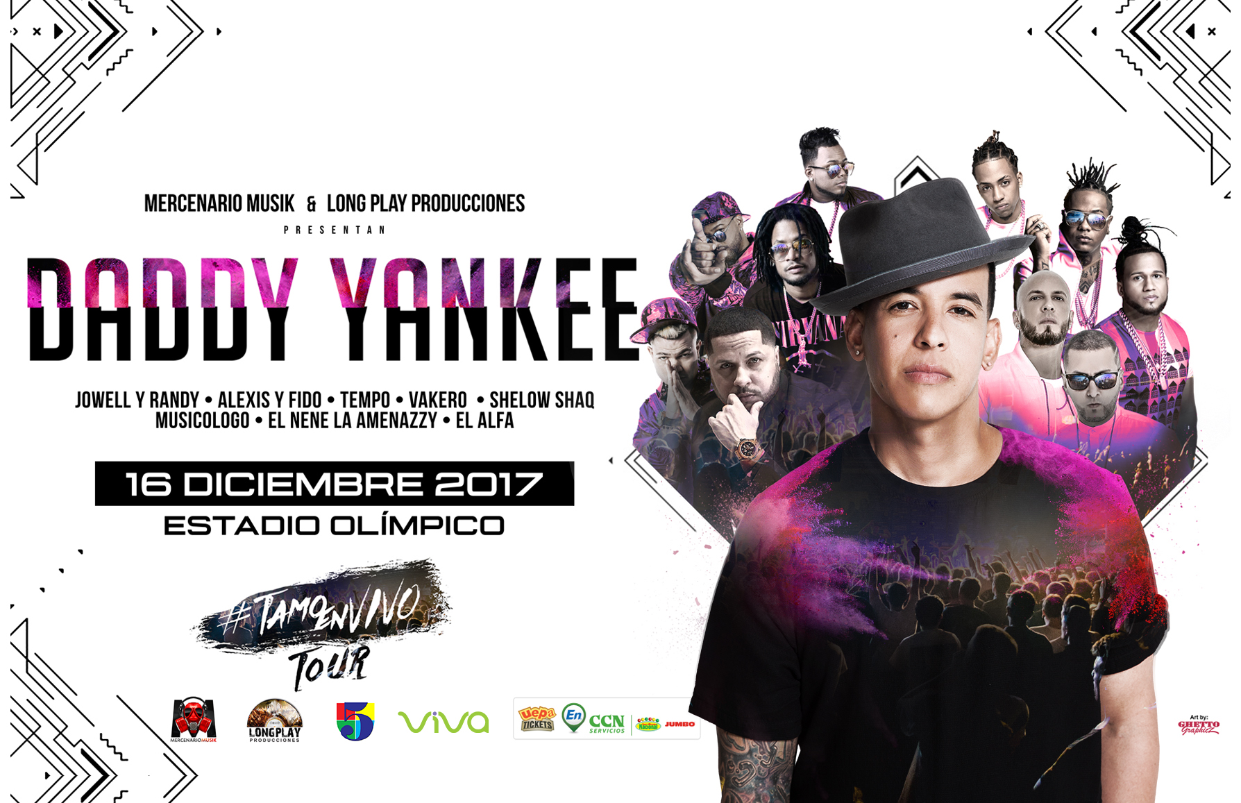 Daddy Yankee – «Tamo En Vivo Tour»