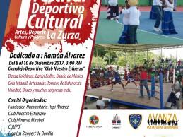 Festival Deportivo y Cultural en La Zurza