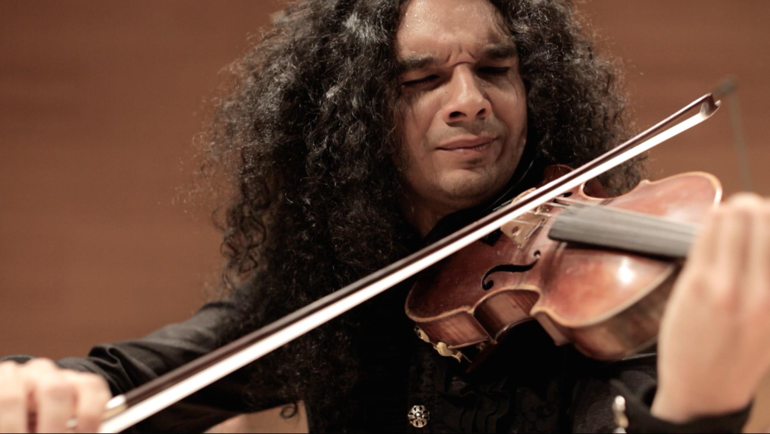`Violinista Nemanja Radulovic en concierto aniversario