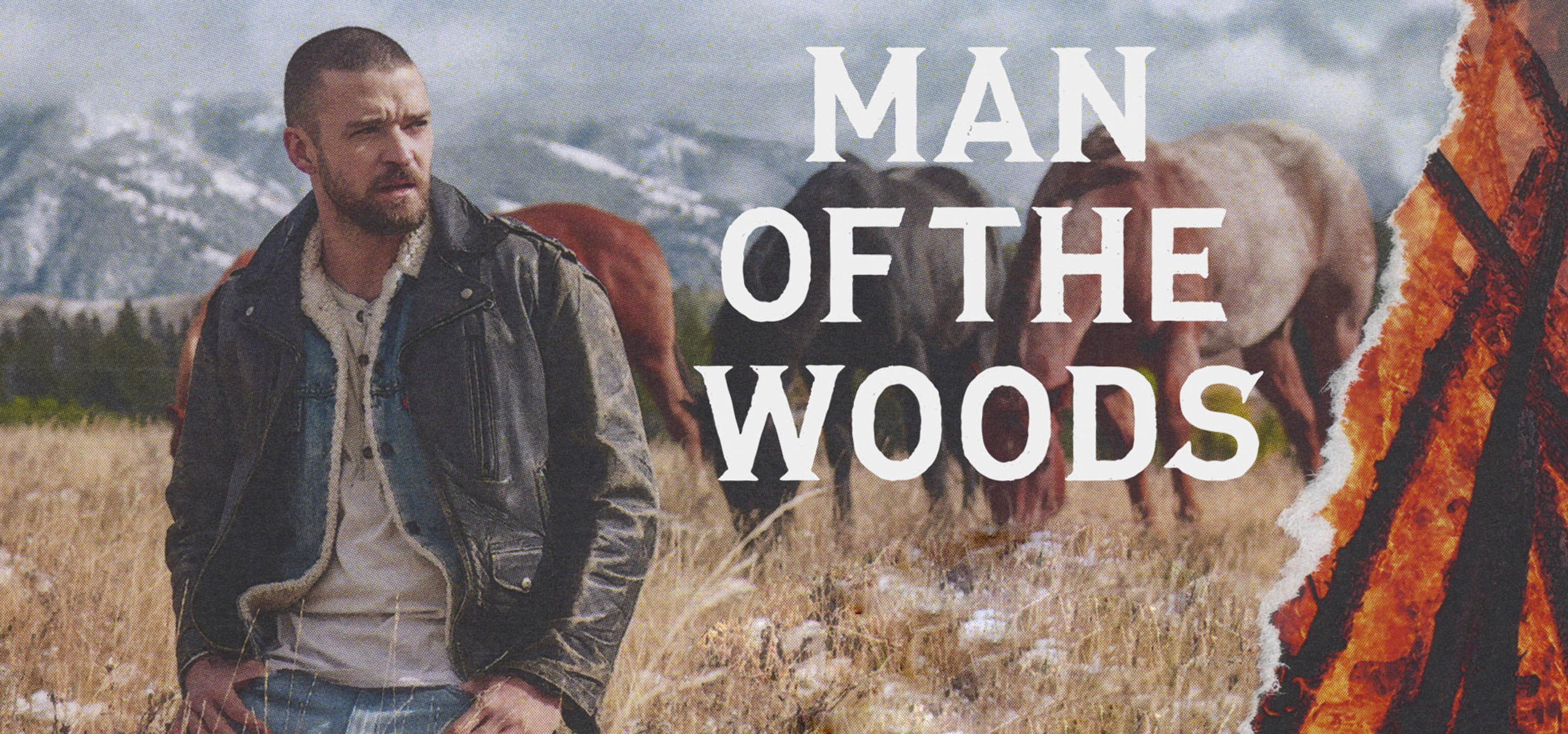 "Justin Timberlake presenta  ""Man of the Woods"""