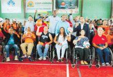Danilo Díaz inicia los Campamentos 2018 con los atletas discapacitados