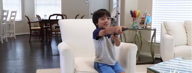 El chico de 6 años que gana U$S11 millones al año