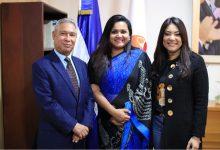Enviada especial de las Naciones Unidas destaca buenas prácticas del Ministerio de la Juventud