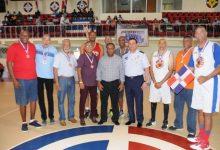 Selección basket ´77 recibe cálido homenaje