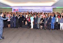 Navarro designa y juramenta 107 Directores Distritales