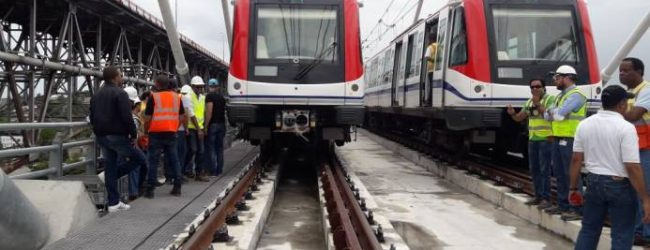 Realizan pruebas finales en la línea 2B del Metro