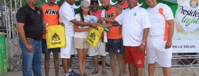 The King, campeón del torneo Cabarete