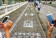 Crean un carril exclusivo para peatones
