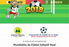 Acto de Inauguración del Mundialito de Fútbol Infantil Real