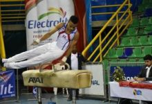 Juvenil Leandro Peña brilla en Internacional gimnasia