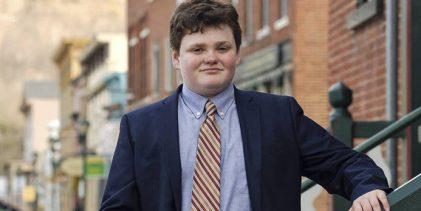 El adolescente de 14 años que aspira a gobernador de Vermont
