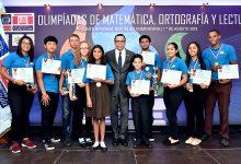 Premian los mejores en ortografía, lectura y matemáticas