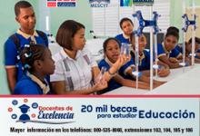 20 mil becas para estudiar educación