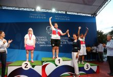 1era. Medalla de Oro Tenis Olimpiadas RD
