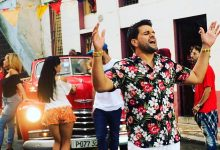 Marlon Fernández graba video en Cuba