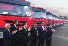 China entregó camiones a 911