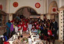 sodomedi celebra fiesta de Navidad