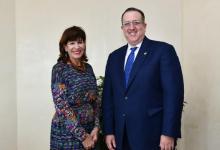 Visita Embajadora EEUU a DGII