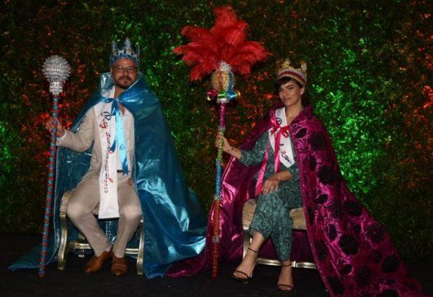 Frank Perozo y Nashla Bogaert son coronados reyes del Desfile Nacional de Carnaval 2019