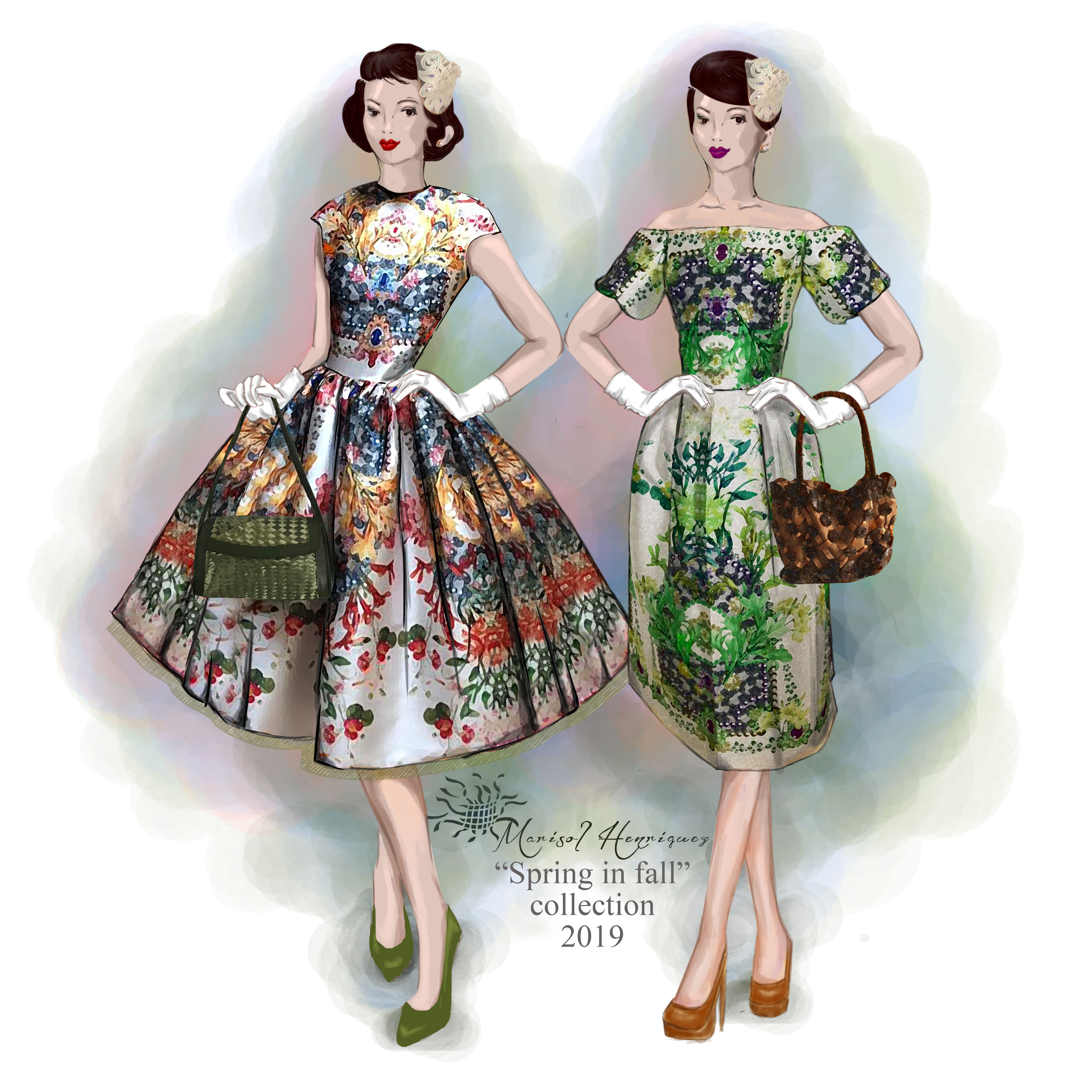 Spring in fall Collection 2019 by Marisol Henríquez