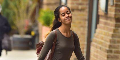 Duras críticas diario británico exponer  vida privada Malia Obama