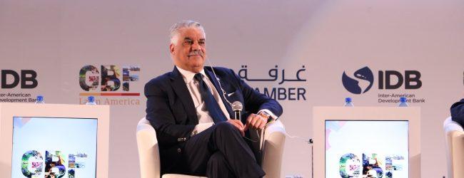 Vargas destaca potencial comercial con EAU