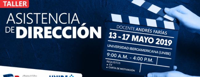 (DGCINE) invita a participar del taller «Asistencia de Dirección»