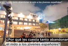 Cuesta abandonar el nido jóvenes españoles?