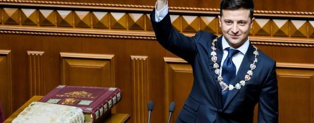 Volodimir Zelenski con 41 años presidente de Ucrania