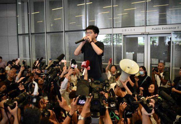 Líder estudiantil ha salido este lunes de la Cárcel