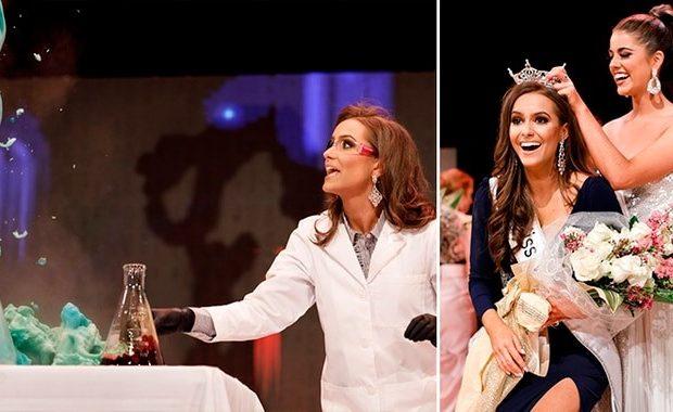 Miss Virginia: la joven bioquímica que ganó su corona con un experimento científico