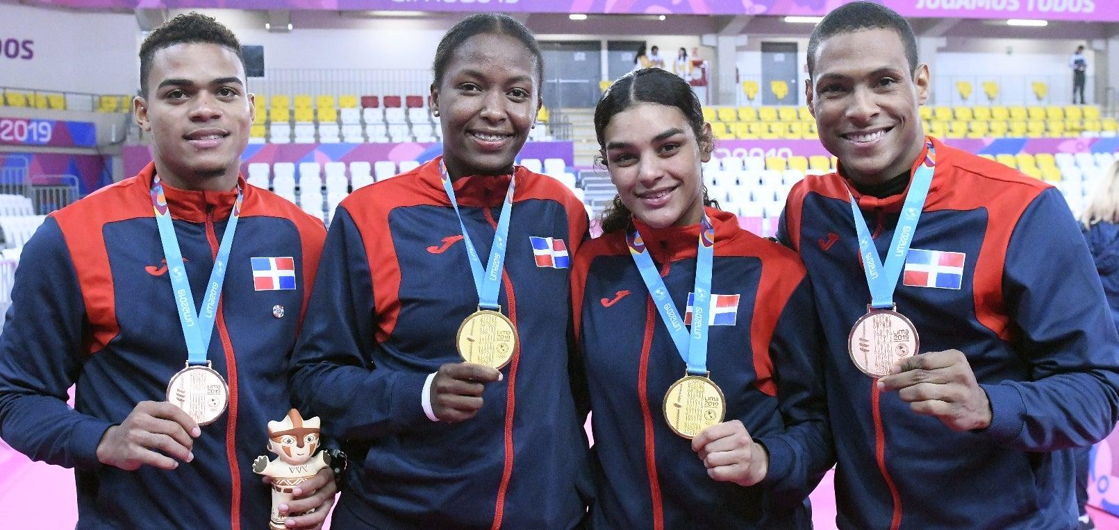 RD supera expectativas ganando 40 medallas