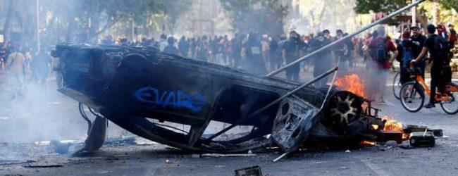 Joven atropellado víctima 12 en protestas en Chile