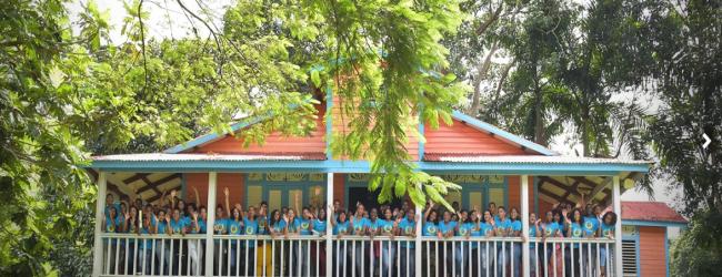 Campamento Juvenil con 300 estudiantes