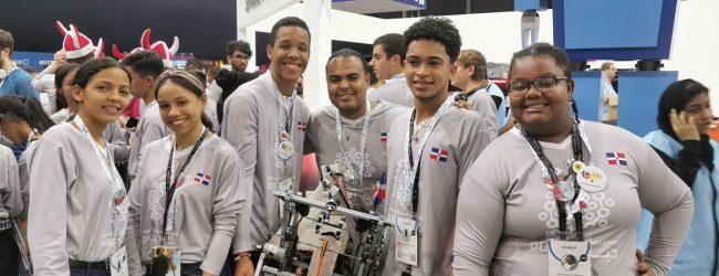 Estudiantes dominicanos ganan medalla de bronce Mundial de Robótica 2019