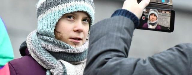 Greta Thunberg celebra sus 17 años