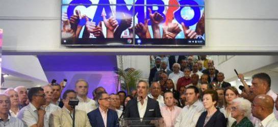 """Abinader """"Junta Central Electoral ha fracasado"""""""