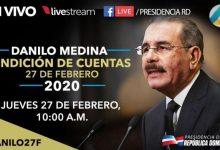 Rendición De Cuentas De Danilo Medina: 616 Canales, Emisoras Y Diarios Digitales