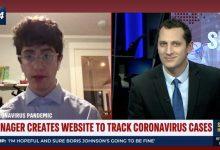 Joven de 17 años rechaza millones para comercializar su web sobre el coronavirus